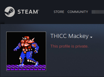 """Vic Mackey's"" Steam profile"