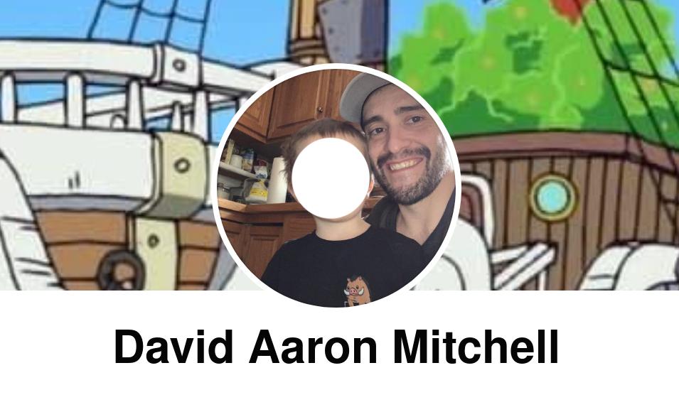 David Aaron Mitchell's Facebook profile.