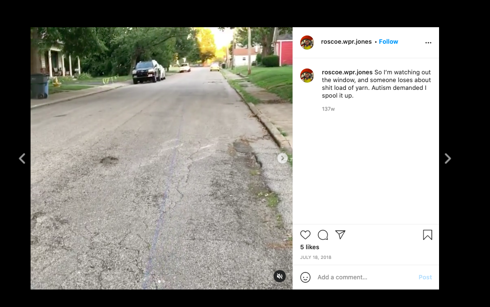 """Public video posted by """"Roscoe"""" on Instagram led to clues to revealing his residence."""