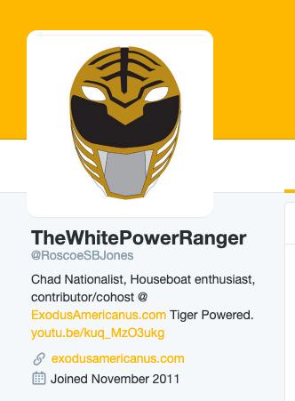 "One of ""Roscoe""'s many Twitter profiles."