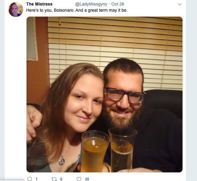 "Public post on Twitter by ""Lady Misogyny"" [please see update]"