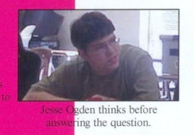 Jesse Ogden, 2003-4.