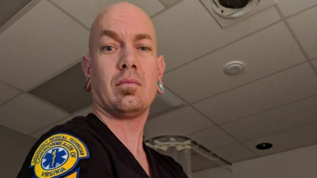 Neo-Nazi paramedic and podcaster Alex McNabb.