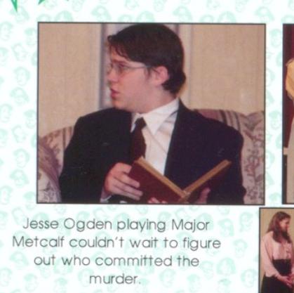 Jesse Ogden in high school, 2003-4.