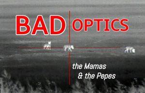 "Accompanying artwork for the song ""Bad Optics."""
