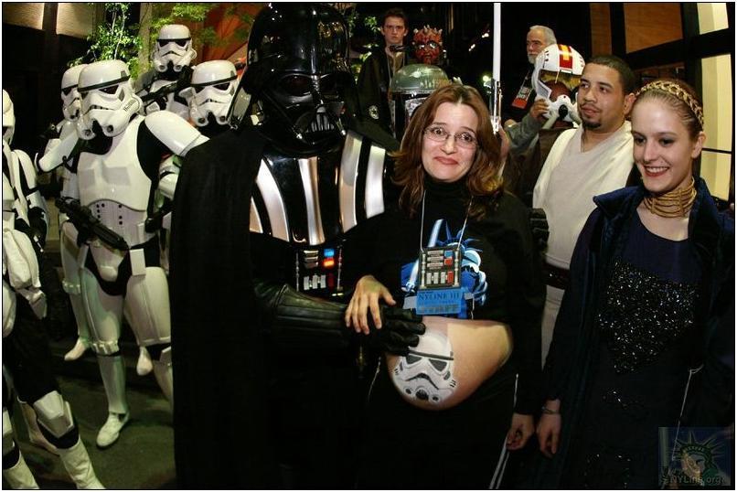 "Julie ""Jewels"" Green at a Star Wars event."